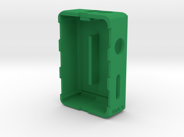 Mod Box -Bottom Feeder- Mark IV in Green Processed Versatile Plastic