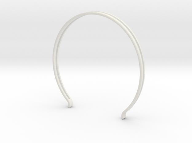 Head arc 3 in White Natural Versatile Plastic