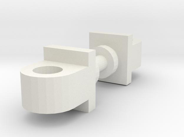 Classics Prime Shoulder Replacements in White Natural Versatile Plastic