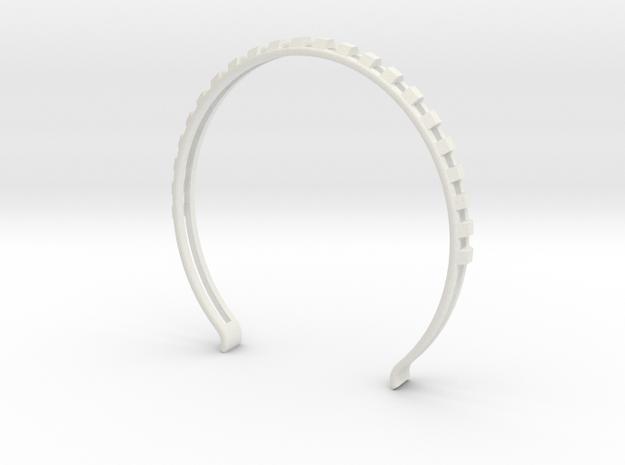 Head arc 7 in White Natural Versatile Plastic