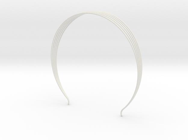 Head arc 8 in White Natural Versatile Plastic