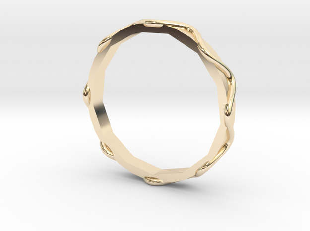 Waves Ring - Sz.7 in 14K Yellow Gold