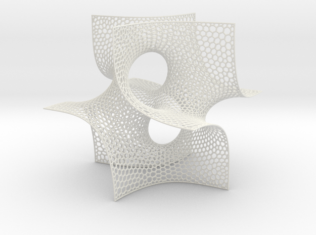 Batwing cubelet 3d printed