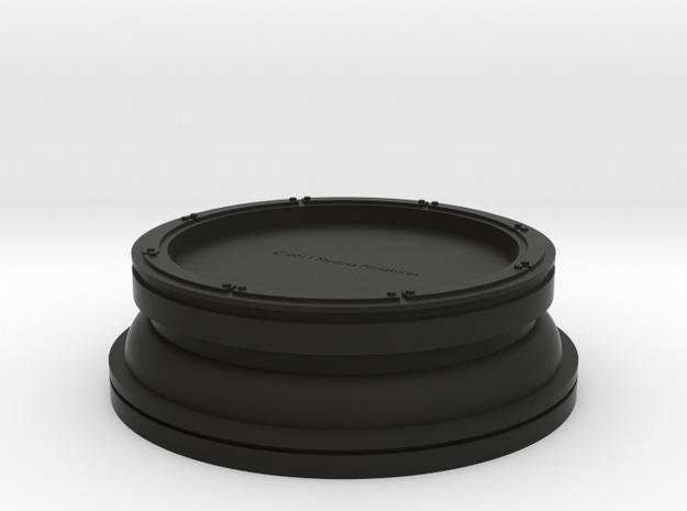 65mm Base Industrial/Sci-Fi Hollowed Plinth 3d printed