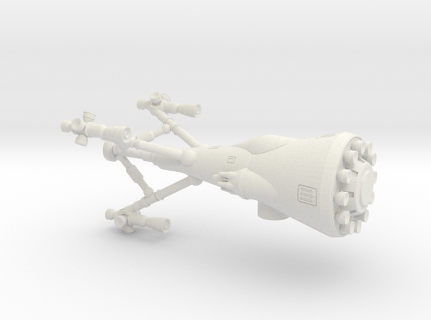 SSCF Troika Fighter 3d printed