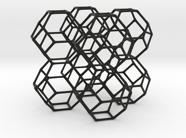 Body Centered Cubic 3d printed