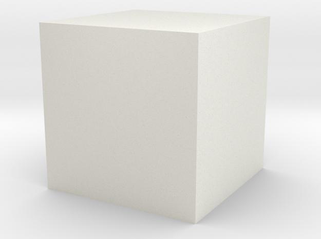 test1 in White Natural Versatile Plastic