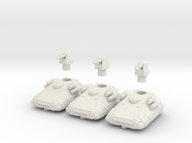 MG144-CT003A Dispersion Ultra Light Grav Tank (3) 3d printed