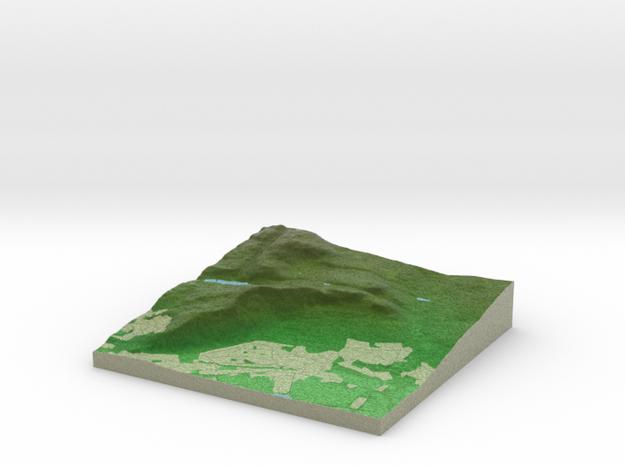 Terrafab generated model Tue Nov 19 2013 15:47:01  in Full Color Sandstone