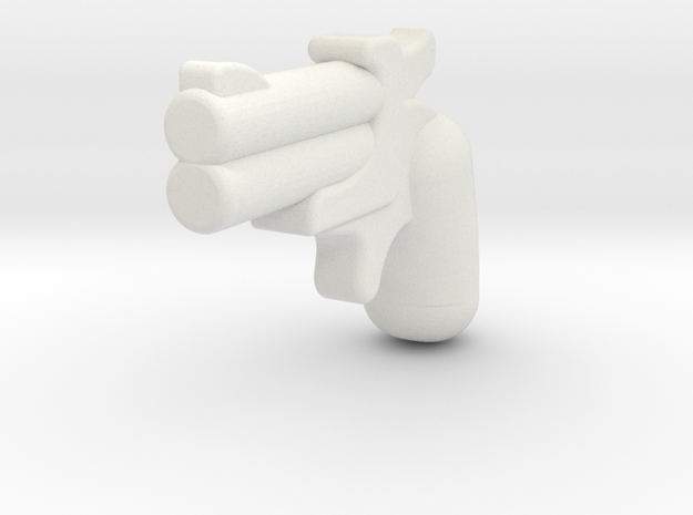 derringer1 in White Natural Versatile Plastic