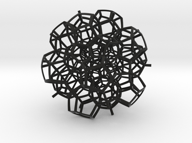 Half of a 120-Cell 3d printed