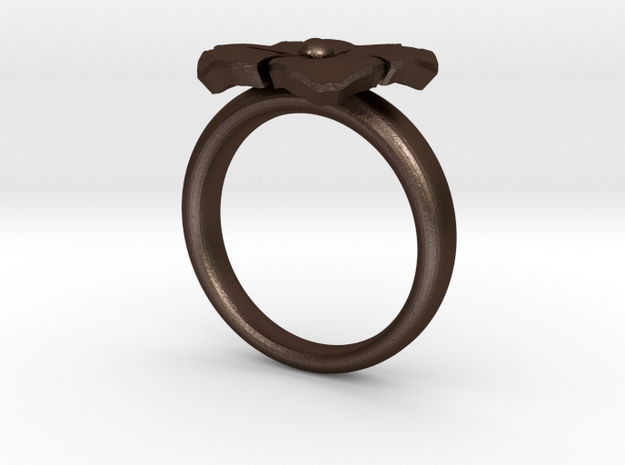 new ring flower S53 3d printed