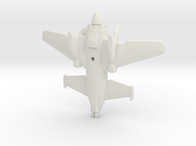 SkyLance Fighter Plane 3d printed