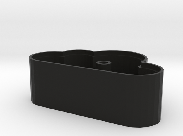 Cloud Shaped Magnetic Key Holder  3d printed