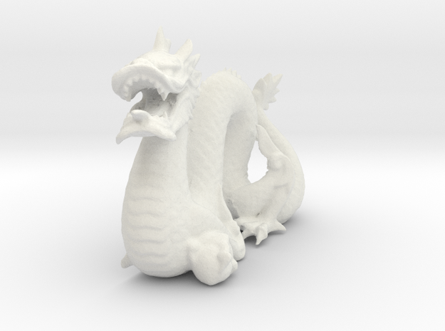 Stanford Dragon 3d printed