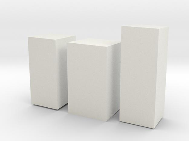concreteSmall 3d printed