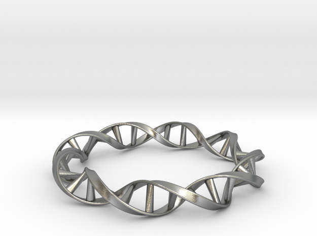 DNA Moebius Bracelet (Small) 3d printed