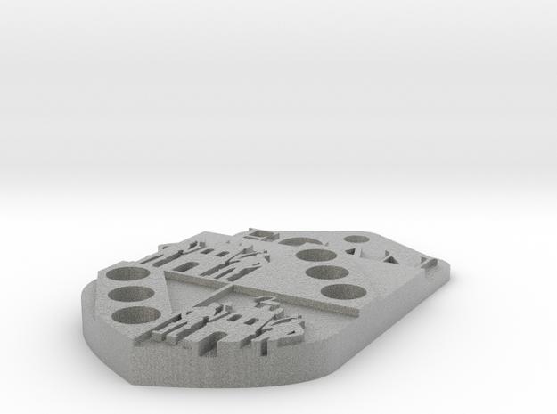 Egan Crest 3d printed