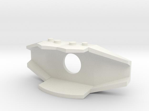 Cheststr in White Natural Versatile Plastic