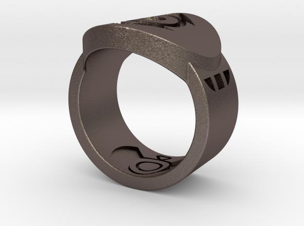 Indigo Tribe FF Ring Sz 8 3d printed