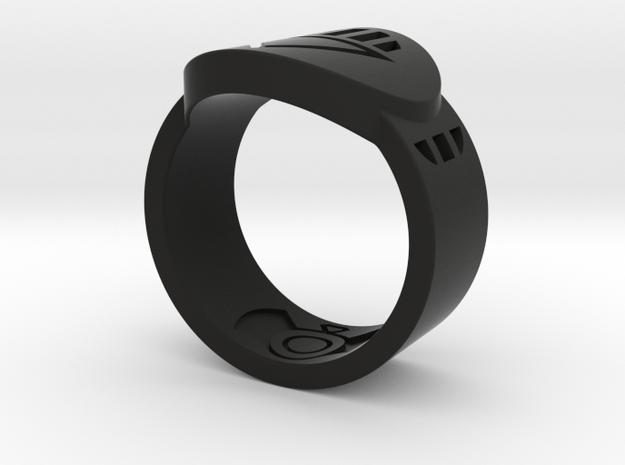 Death FF Ring Sz 11 in Black Natural Versatile Plastic