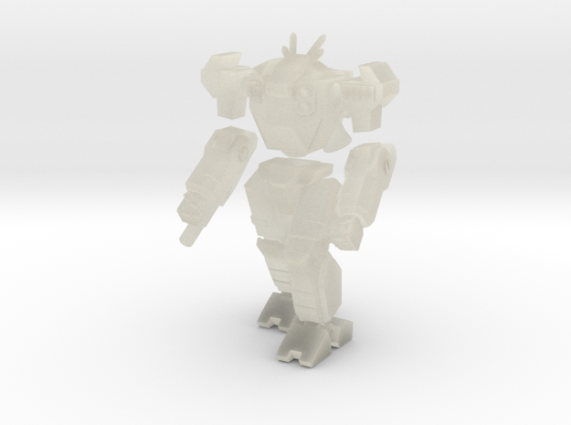 Mecha- Odyssey- Hyperion (1/285th) Multi-Part in Transparent Acrylic