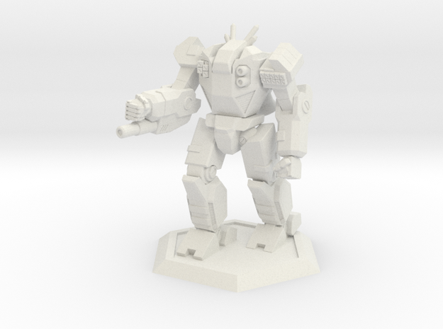 Mecha- Odyssey- Hyperion (1/285th) in White Natural Versatile Plastic