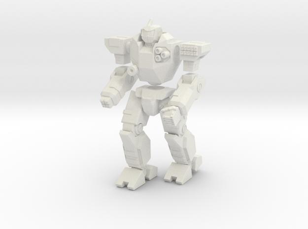 Mecha- Odyssey- Kreios (1/285th) Multi-Part in White Natural Versatile Plastic