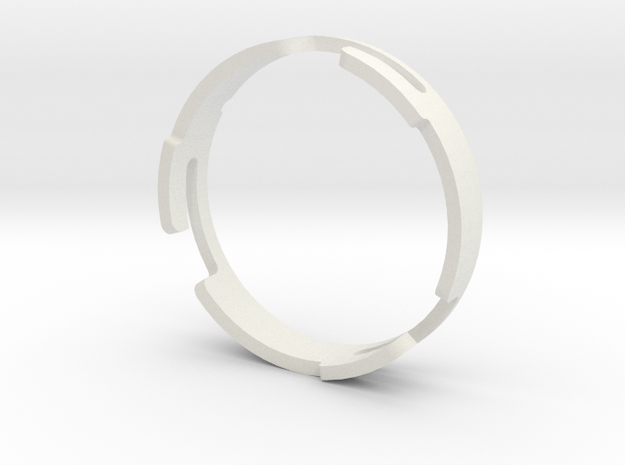 InsightH150R_25.3_Ring in White Natural Versatile Plastic