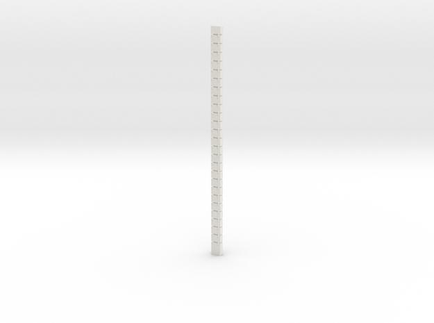 Large box belt in White Natural Versatile Plastic