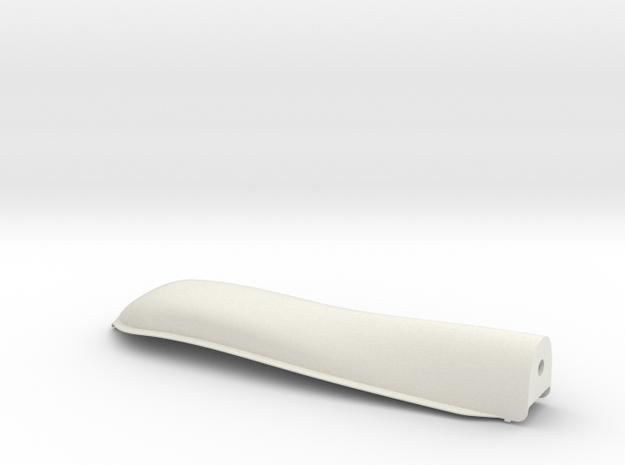 Z1B Powerpod Fairing in White Natural Versatile Plastic