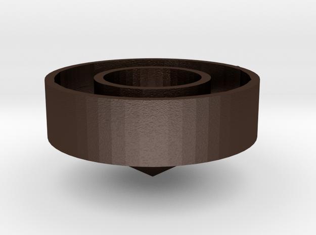 Halo bronze 3d printed