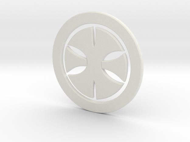 200xcross in White Natural Versatile Plastic