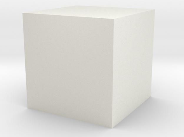 test 1 in White Natural Versatile Plastic