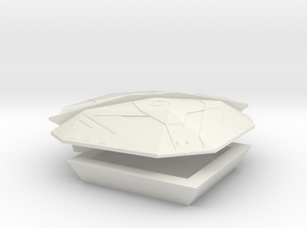 Cobra Mark III Model Kit in White Natural Versatile Plastic