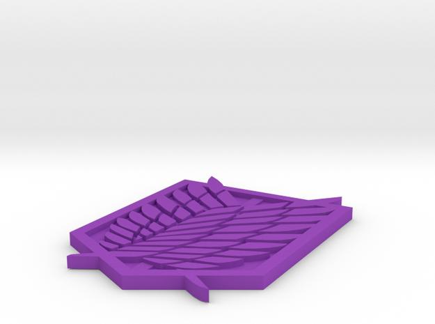 Scout Emblem 3d printed