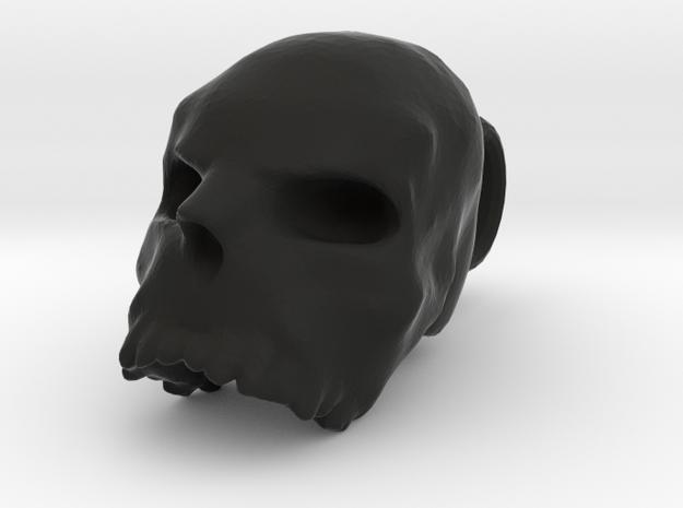 SMALL skull pendant 3d printed