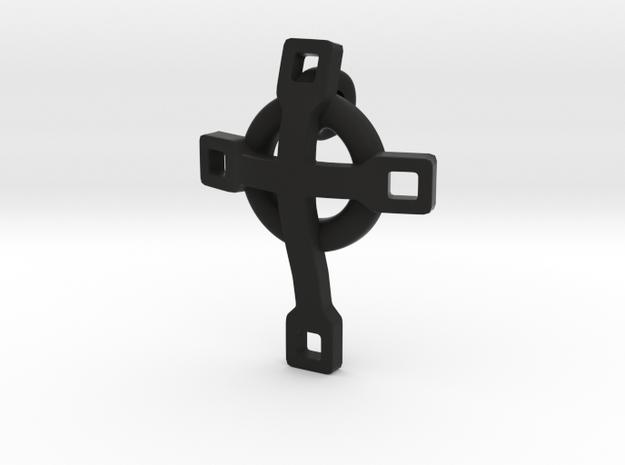 basic CROSS pendant 2 3d printed