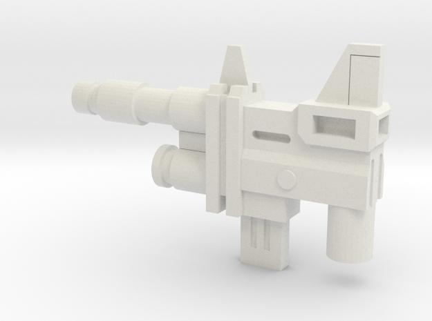 Sunlink - Gnash Gun in White Natural Versatile Plastic