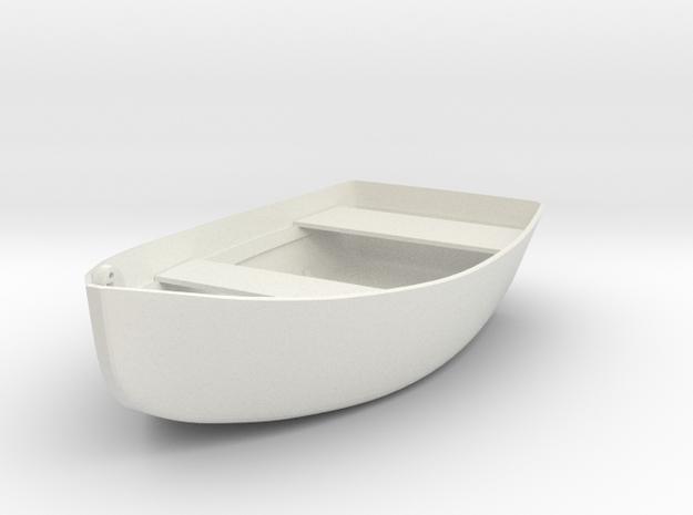 row-boat pendant in White Natural Versatile Plastic