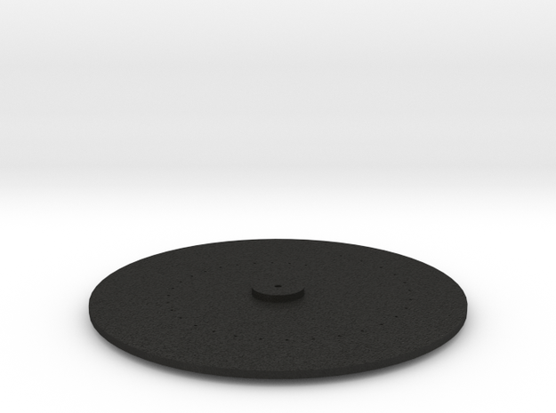 Small nipkow disk 3d printed