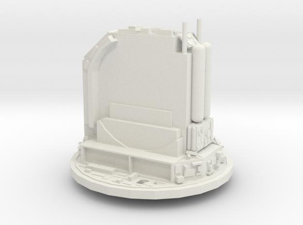 Rail gun turret - free 3d printed