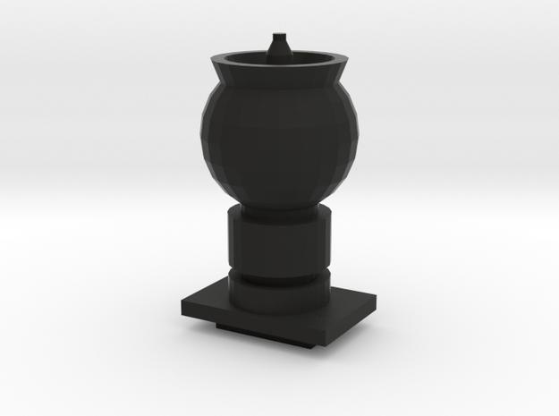 Flamethrower Gun for turret 3d printed