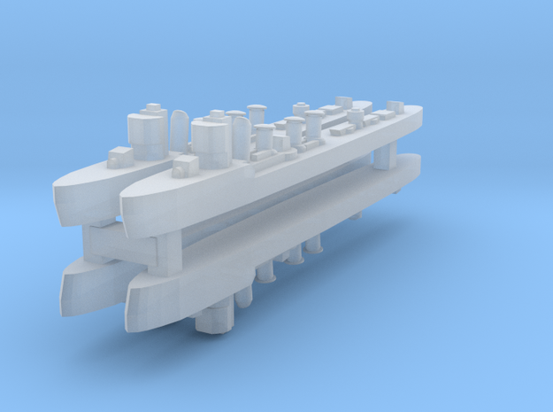 Alsedo 1:3000 X4 in Smooth Fine Detail Plastic