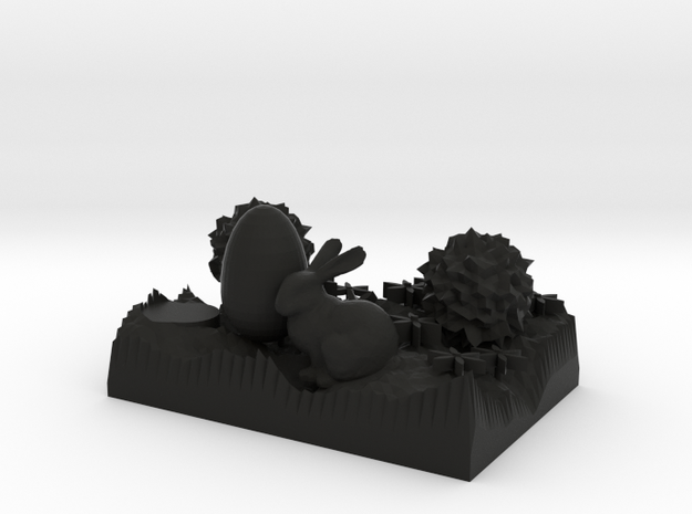 The Easter Bunny large 3d printed