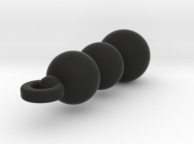 Bead Earring 3d printed