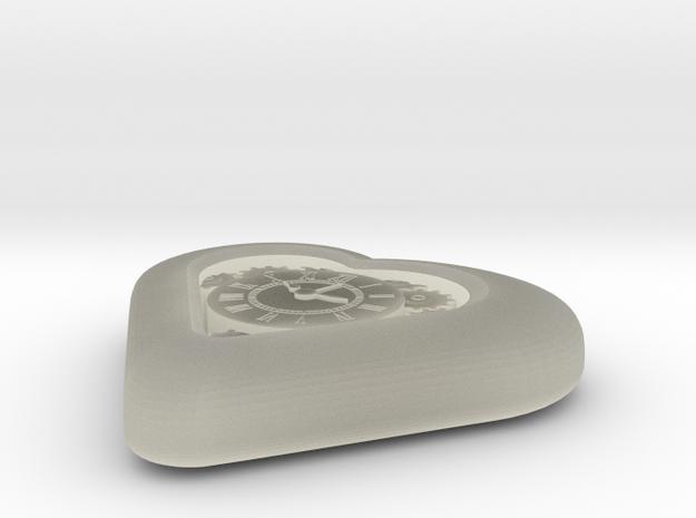 Mech Heart in Transparent Acrylic