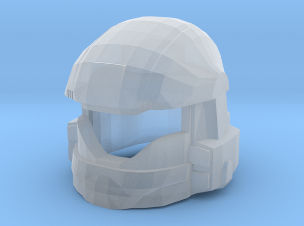 Drop Trooper Helmet Mk II in Smooth Fine Detail Plastic