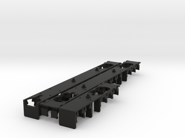 Plan U interieur N scale (1:160) 3d printed
