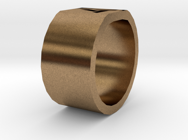 Abstergo Ring 3d printed